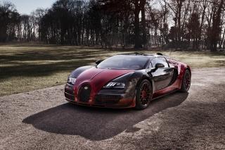 Bugatti Veyron Grand Sport Vitesse - Obrázkek zdarma pro Motorola DROID