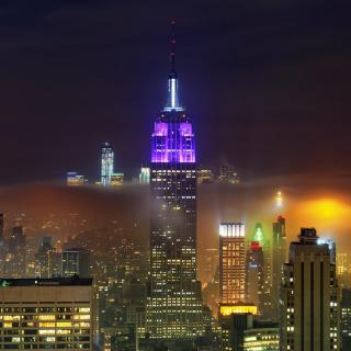 New York City Night - Obrázkek zdarma pro 320x320