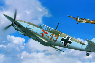 Free Messerschmitt Bf 109E Picture for Android, iPhone and iPad
