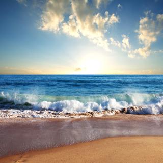 Beach and Waves - Obrázkek zdarma pro iPad 2