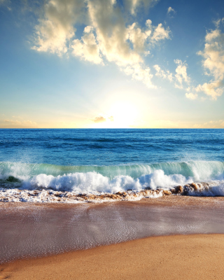Beach and Waves - Obrázkek zdarma pro 320x480