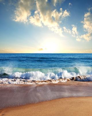 Beach and Waves - Obrázkek zdarma pro Nokia Lumia 822
