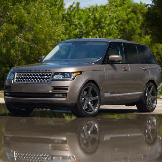 Range Rover 22 inch Rims - Obrázkek zdarma pro iPad Air