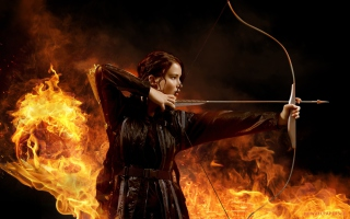 Jennifer Lawrence In Hunger Games Picture for Android, iPhone and iPad
