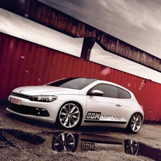 Volkswagen Scirocco Tuning - Obrázkek zdarma pro iPad mini 2