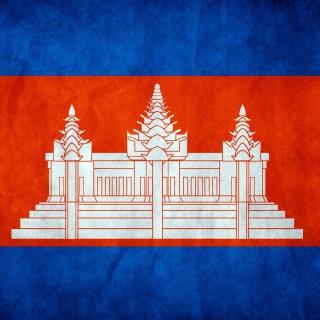 Flag of Cambodia - Obrázkek zdarma pro 320x320