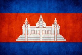 Flag of Cambodia - Obrázkek zdarma pro 1440x1280