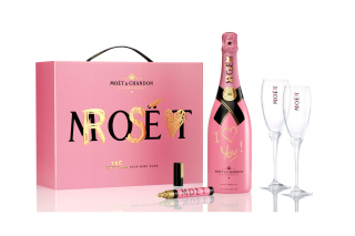 Moet Chandon Champagne Background for Android, iPhone and iPad