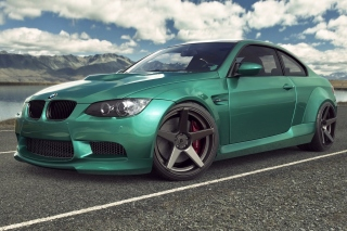 BMW M3 E92 Tuning Background for Android, iPhone and iPad