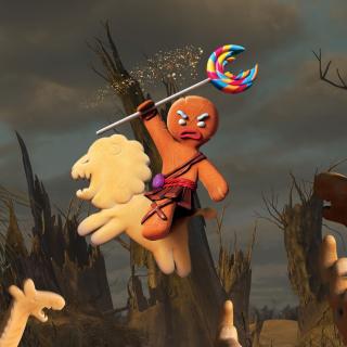 Gingerbread Man - Obrázkek zdarma pro iPad mini