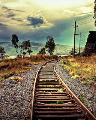 Abandoned Railroad - Obrázkek zdarma pro Nokia X7