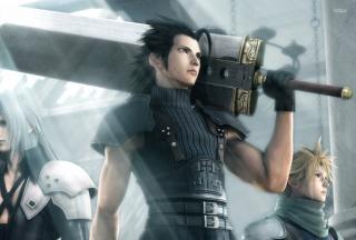 Crisis Core Final Fantasy Vii Game - Obrázkek zdarma pro 1366x768