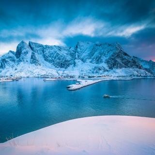 Lofoten Island - Obrázkek zdarma pro iPad Air