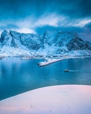 Lofoten Island - Obrázkek zdarma pro 240x400