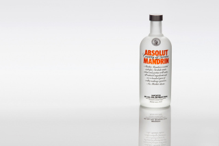 Absolut Vodka Mandarin Background for Android, iPhone and iPad