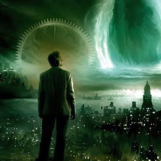 Futuristic World - Obrázkek zdarma pro 1024x1024