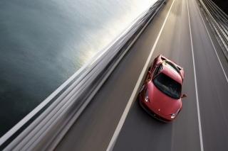 Ferrari 458 Italia Background for Android, iPhone and iPad