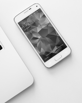 Samsung Smartphone and Laptop - Obrázkek zdarma pro 480x800