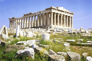 Parthenon Acropolis Athens Greece Background for Android, iPhone and iPad
