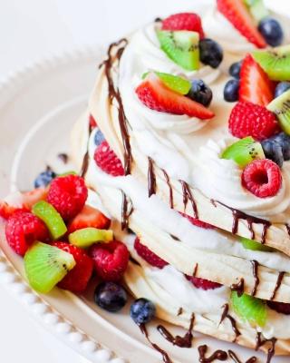 Fruit cake - Obrázkek zdarma pro Nokia Asha 308