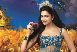Deepika Padukone 2012 Background for Android, iPhone and iPad