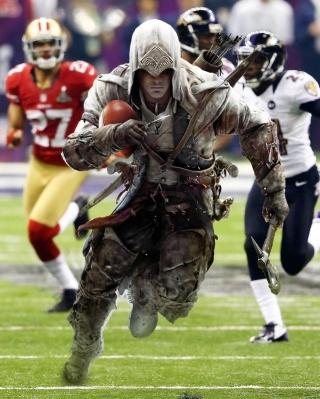 Assassins Creed 4 Super Bowl - Obrázkek zdarma pro Nokia Asha 503