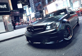 Mercedes-Benz C63 AMG Wallpaper for Android, iPhone and iPad