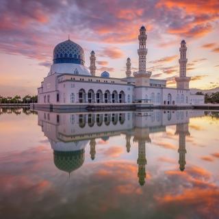 Kota Kinabalu City Mosque - Obrázkek zdarma pro 208x208