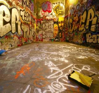 Street Graffiti - Obrázkek zdarma pro iPad 3
