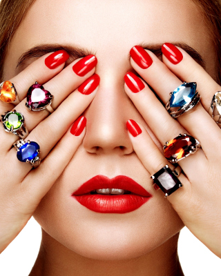 Rings on all Fingers Wallpaper for 480x854