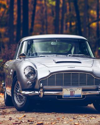 Aston Martin DB5 - Obrázkek zdarma pro 132x176