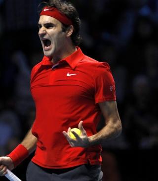 Federer Roger - Obrázkek zdarma pro Nokia Asha 202