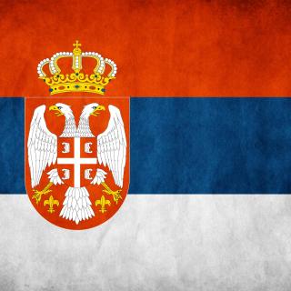 Serbian flag - Obrázkek zdarma pro iPad 3