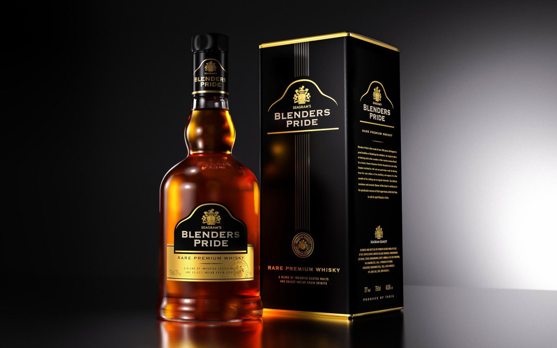blenders pride whisky fondos de pantalla gratis para