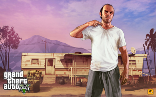 Grand Theft Auto V Picture for Android, iPhone and iPad