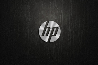 HP Dark Logo Background for Android, iPhone and iPad