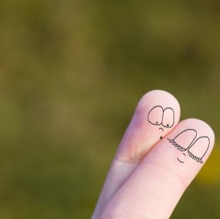 Cute Fingers - Obrázkek zdarma pro iPad