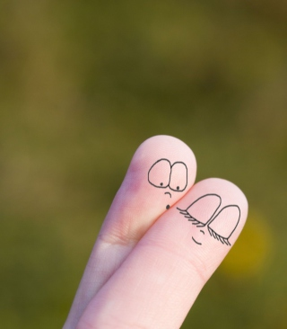Cute Fingers - Obrázkek zdarma pro Nokia Asha 503