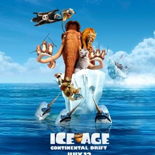 Ice Age Continental Drift - Obrázkek zdarma pro iPad Air