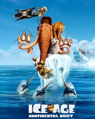 Ice Age Continental Drift - Obrázkek zdarma pro 360x480