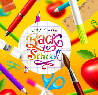 Back to School - Obrázkek zdarma pro 1024x1024