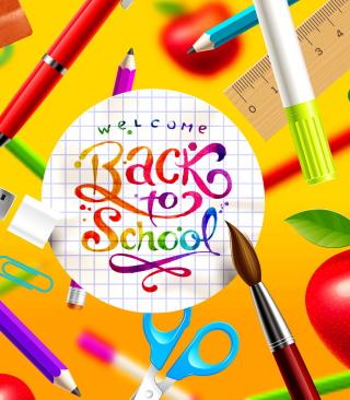 Back to School - Obrázkek zdarma pro Nokia 206 Asha