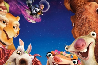 Ice Age Collision Course Background for Android, iPhone and iPad