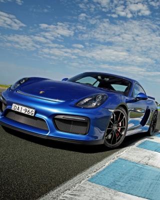 Porsche Cayman GT4 - Obrázkek zdarma pro iPhone 6 Plus