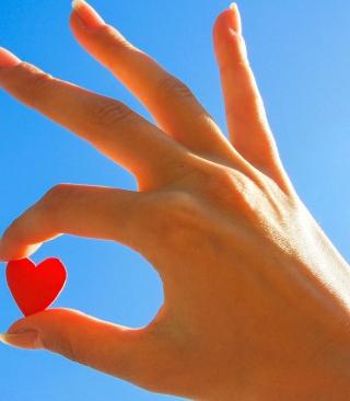 Little Red Heart - Obrázkek zdarma pro iPhone 3G