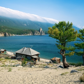 Lake Baikal - Obrázkek zdarma pro iPad Air