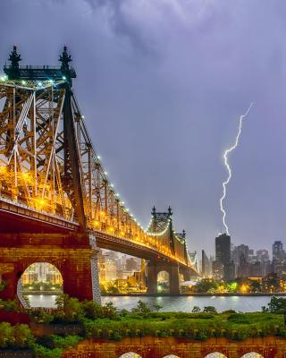 Storm in New York - Obrázkek zdarma pro Nokia 206 Asha