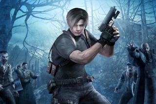 Resident Evil 4 - Obrázkek zdarma pro LG P970 Optimus