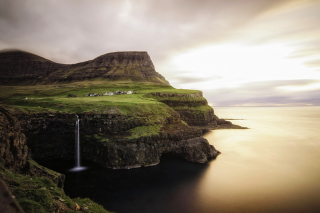 Gasadalur west side Faroe Islands Wallpaper for Android, iPhone and iPad