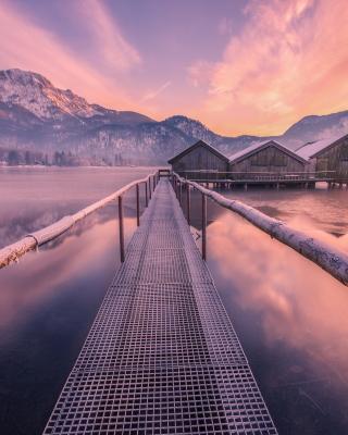 Frozen landscape - Obrázkek zdarma pro 360x480